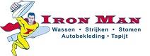 Iron Man Wasserij & Stomerij Logo